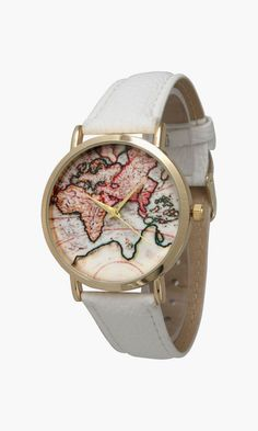 I love watches and this one is fantastic! Olivia Pratt Women's Travelers Watch