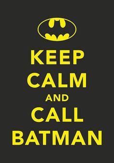 call batman - man cave?