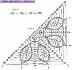 Precioso Chal con unión de motivos | Mi Rincon de Crochet