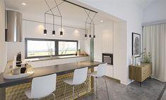 Projekt domu Alfi 158,86 m2 - koszt budowy - EXTRADOM Chata, Kitchen, House, Furniture, Home Decor, House 2, Cooking, Decoration Home, Home
