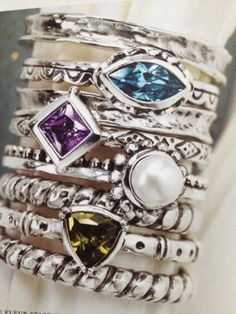 Love these new rings from Silpada... coming next week!
