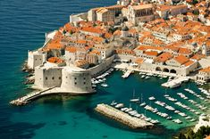 Dubrovnik is one of the oldest cities in Croatia and is full of contrasts. For more information on planning your holiday in Dubrovnik read our guide… The Places In Europe, Places To Travel, Places To Visit, Dubrovnik Croatia, Croatia Travel, Best Places To Honeymoon, Croatian Islands, Globe, Most Romantic Places