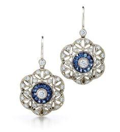 Bridal Earrings Bridesmaid Gift Wedding Earrings Bridal Jewelry LUX Rose Gold…