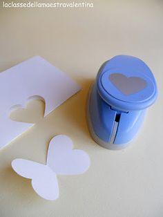 Great way to make butterflies!!