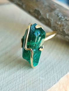 Dioptase Ring Raw Dioptase Green Gemstone Genuine Dioptase Crystal For Chakra Natural Raw Gemstone Ring Regulate Size Ring 925 Solid Silver Boho Jewelry, Silver Jewelry, Jewelry Accessories, Vintage Jewelry, Jewelry Design, Silver Ring, Fancy Jewellery, Silver Earrings, Silver Bracelets