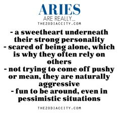 Zodiac Files: Aries are really….. - TheZodiacCity - Get Familiar ...