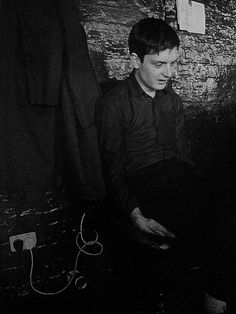 Ian Curtis by Kevin Cummins