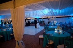 Romantic last dance with Bride & Groom alone in tent. Magek Photography.
