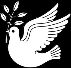 line drawings of doves - Google Search