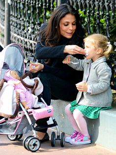 They Mop Up Messes! Bethenny Frankel with Bryn.