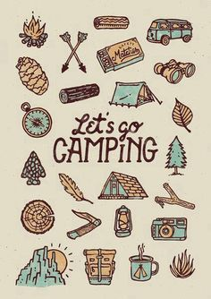 Let's go camping! Let's go camping! Family Camping, Go Camping, Camping Hacks, Camping Songs, Florida Camping, Family Tent, Camping Gadgets, Camping Style, Winter Camping
