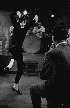 """""""Funny Face"""" 1956 Paramount One of my all time fave movies ever. I love Fred Astaire too ♡♥"""