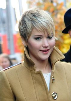 #Jennifer Lawrence #Short hair