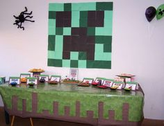"Minecraft Birthday Party / Birthday ""Minecraft Party""   Catch My Party"
