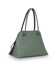 Creator Sathiya green - a dual toned bag by Baggit. http://www.baggit.com/