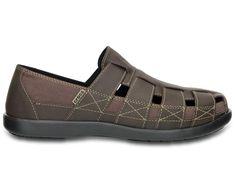 Men's Santa Cruz Fisherman Sandal | Men's Sandals | Crocs Official Site  size 13