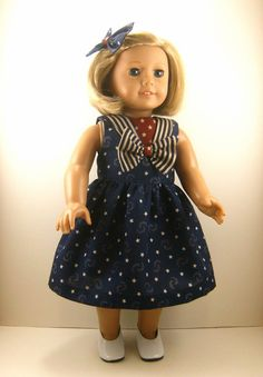 Fits American Girl Doll  Other 18 Inch Dolls  by dressurdolly2, $22.00