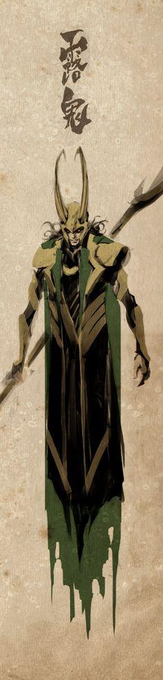 Loki by naratani on deviantART