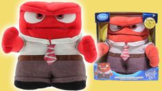 Disney Pixar Inside Out Animated Anger Talking Plush Disney Store Toy Inside Out Toys, Rainbow Toys, Disney Store Toys, Disney Pixar, Plush, Animation, Dolls, Tv, Videos