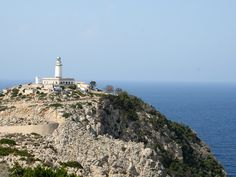 Free for non-commercial use Balearic Islands, Majorca, Lighthouse, Paris Skyline, Spain, Europe, Water, Travel, Life