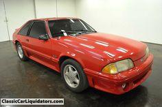 1992 Ford Mustang GT 5 Speed www.classiccarliquidators.com