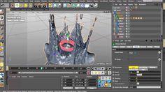 crown splash tutorial- REALFLOW FLUIDS INSIDE CINEMA 4D ...