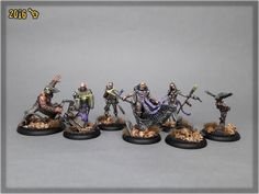 GALLERY: GUILD BALL MORTICIAN'S lvl 3,5   Scar_hand Painting