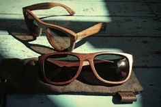 b5205dae1c08c Wooden sunglasses by Palo
