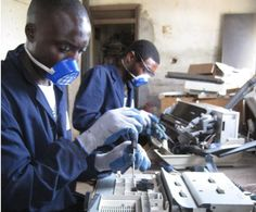 WEEE Centre provides eWaste management services before decommissioned electrical and electronic equipment becomes a real problem in Kenya