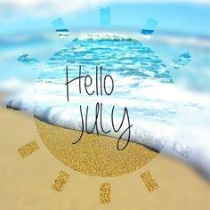Goodbye june, hello july!