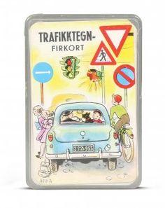 Trafikktegn- firkort Åsmund S. Lærdal