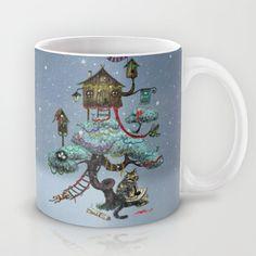 Christmas Tree Mug by Anna Shell - $15.00
