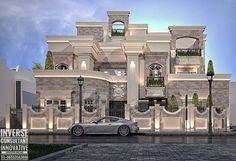 67 dream house interior design ideas to inspire you 5 - Classic House Exterior, Classic House Design, Dream Home Design, Modern House Design, Modern Houses, House Plans Mansion, Dream Mansion, House Outside Design, House Front Design