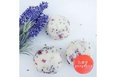 Rose & Lavender Bath Truffles by Hey Gorgeous Hey Gorgeous, Truffles, Lavender, Bath, Make It Yourself, Rose, Plants, Bathing, Pink
