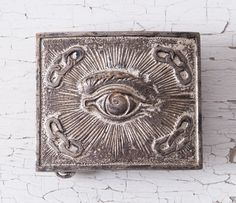 Antique Masonic Belt Buckle