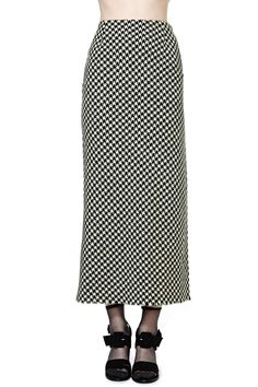 Yohji Yamamoto Parallels Skirt
