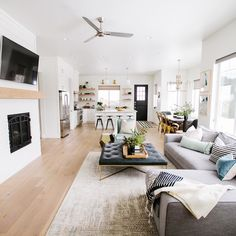60 Best Open Plan Living Images In 2020 House Design Home House Interior