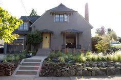 Portland Modern Tudor Landscape