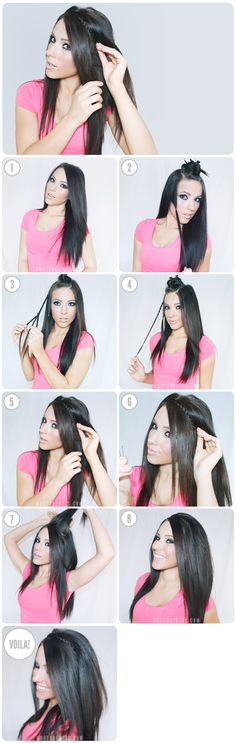 6 tops tutos coiffures ultra simples