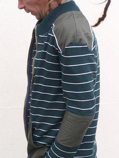 veste zippée basalte patron grain de couture Ivanne Soufflet