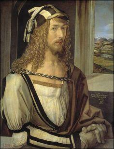 El Autorretrato de Alberto Durero (1498) es uno de los primeros autorretratos que se conocen. Museo Nacional del Prado
