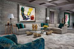 Geoffrey Bradfield   Luxury Interior Design   Jerusalem Penthouse