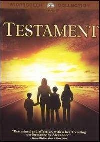 Testament wasa originally made for television but was released theatrically ass it had such an impact. Another cautionary tale, it tells the story of a small US town and how it falls apart after nuclear war.