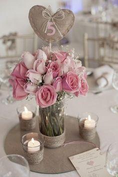 Numéros de table mariage 10 idées originales & DIY