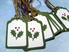 double cut gift tag
