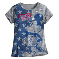 Mickey Mouse Stars Tee for Girls | Disney Store