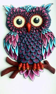 Paper Owl,Owl Die Cut,Scrapbook Die Cut,Scrapbooking Die Cut,Owl Decoration,Owl Embellishment,  Please visit my shop at https://www.etsy.com/shop/MyParfum, OWL DECORATION