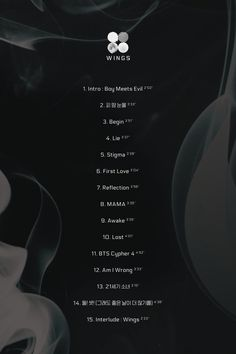 [Bangtan News] The tracklist for BTS's new full album WINGS has been released ❤ (CYPHER PART 4 HOE MY COD ABOUT TIME YASSSSSS) #Cypher4WillLightMyInsidesUpAndDestroyEveryoneInTheRapGameRightNowSoYouBetterLeaveAgustDBecauseSugaRMAndDopeHopeBeComingForEveryoneYASSSS #BTS #방탄소년단