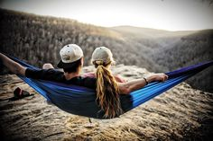 Want to hang with a friend or that lucky someone? Our extra large Double Hammocks are custom designed and tested in the US to hold two people up to 400 lbs - they're build to withstand the most rugged