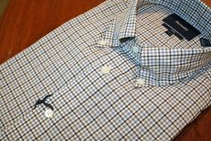 Faconnable  Check  Sport Shirt Blue | #Mondo #Uomo #Naples #Fashion